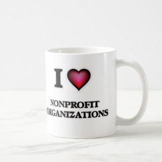 I Love Nonprofit Organizations Coffee Mug
