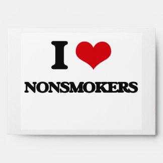 I Love Nonsmokers Envelope