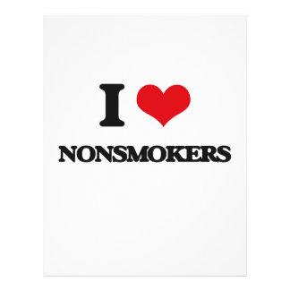 "I Love Nonsmokers 8.5"" X 11"" Flyer"