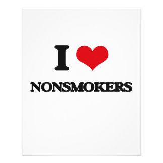 "I Love Nonsmokers 4.5"" X 5.6"" Flyer"