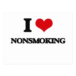 I Love Nonsmoking Post Card
