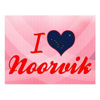 I Love Noorvik, Alaska Postcards