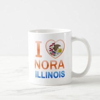 I Love Nora, IL Coffee Mug