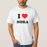 I Love Nora Tshirts