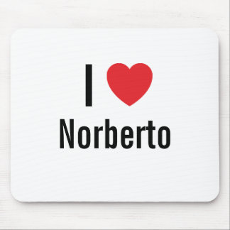 I love Norberto Mouse Mats