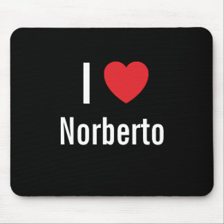 I love Norberto Mouse Pad