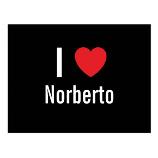I love Norberto Post Cards