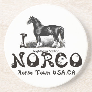 I-Love Norco Horse Town USAmultiple products selec Drink Coaster