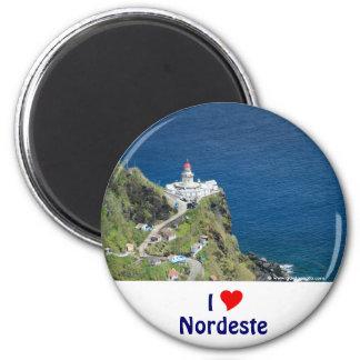 I Love Nordeste 2 Inch Round Magnet