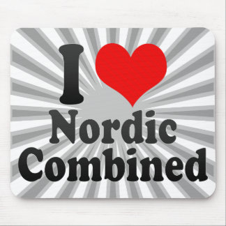 I love Nordic Combined Mousepad