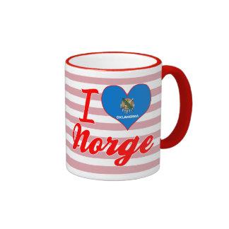 I Love Norge, Oklahoma Mugs