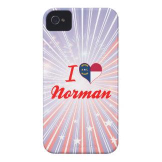 I Love Norman, North Carolina iPhone 4 Case