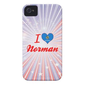 I Love Norman, Oklahoma iPhone 4 Cases