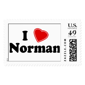 I Love Norman Stamp
