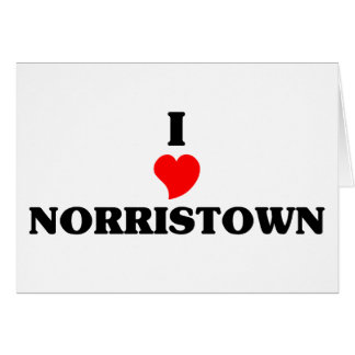 I love Norristown Greeting Card