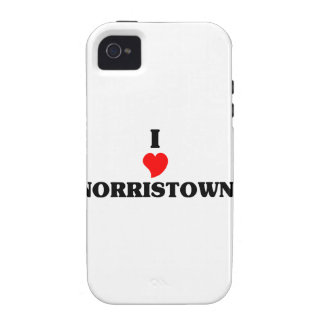 I love Norristown Case-Mate iPhone 4 Cases