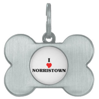 I love Norristown Pet Tags