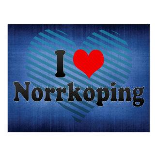 I Love Norrkoping, Sweden Postcard