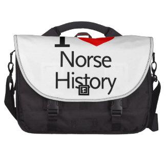 I Love Norse History Laptop Computer Bag