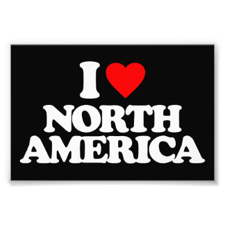 I LOVE NORTH AMERICA PHOTO