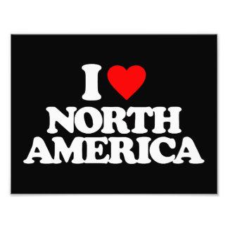 I LOVE NORTH AMERICA PHOTOGRAPH