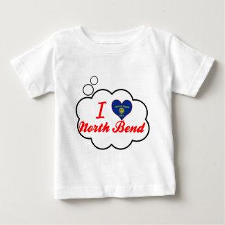 I Love North Bend, Oregon Tee Shirts