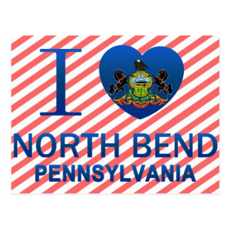 I Love North Bend, PA Post Cards