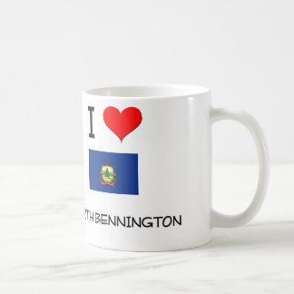 I Love North Bennington Vermont Classic White Coffee Mug