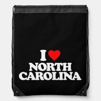 I LOVE NORTH CAROLINA BACKPACK