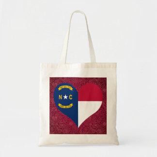 I Love North+Carolina Budget Tote Bag