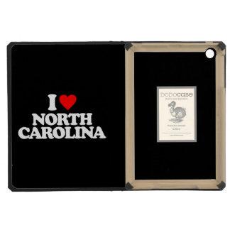 I LOVE NORTH CAROLINA iPad MINI COVER