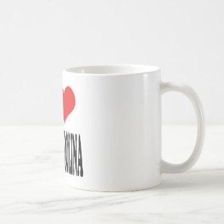 I Love North Carolina Classic White Coffee Mug
