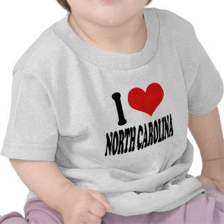 I Love North Carolina Tshirts