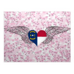 I Love North Carolina -wings Postcard