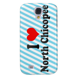 I Love North Chicopee United States Galaxy S4 Case