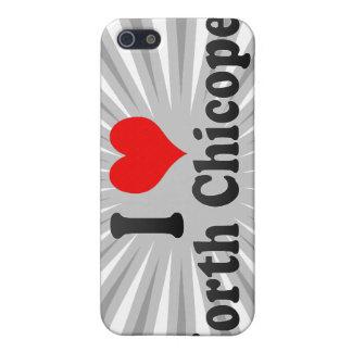 I Love North Chicopee United States iPhone 5 Case