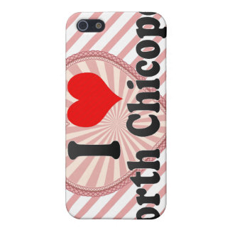 I Love North Chicopee United States Cover For iPhone 5