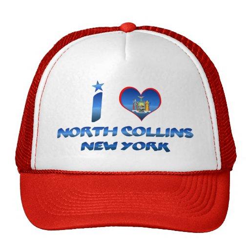 I love North Collins, New York Trucker Hat