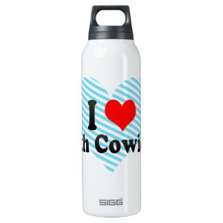 I Love North Cowichan, Canada Insulated Water Bottle