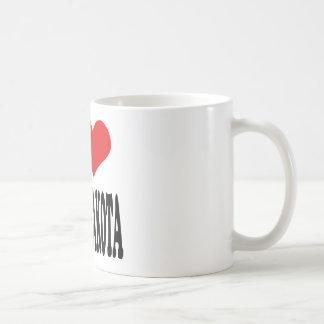 I Love North Dakota Classic White Coffee Mug