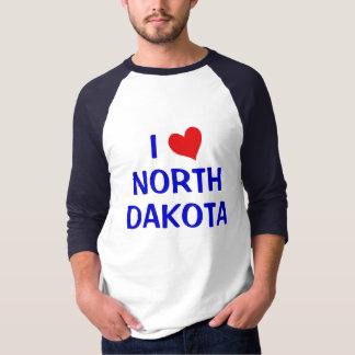 I Love North Dakota T-Shirt