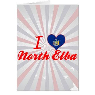 I Love North Elba New York Greeting Cards