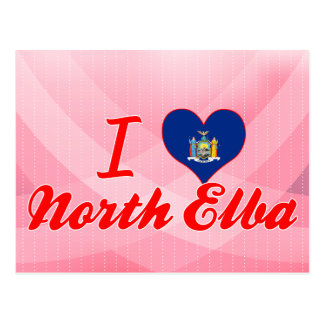 I Love North Elba New York Postcards