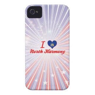 I Love North Harmony, New York iPhone 4 Case-Mate Case
