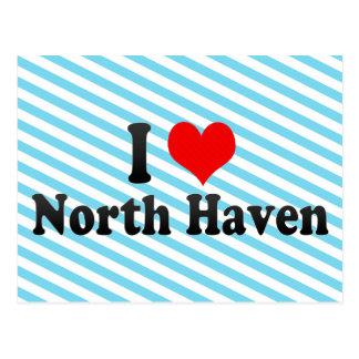 I Love North Haven, United States Postcard