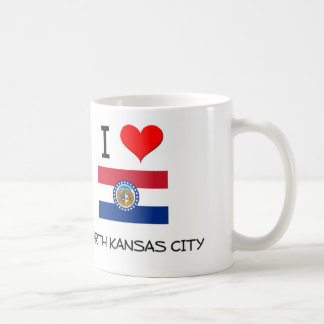 I Love North Kansas City Missouri Classic White Coffee Mug