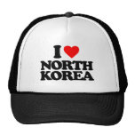 I LOVE NORTH KOREA HATS