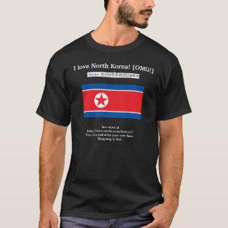I love North Korea! [OMG!] :) Also: DPRK in Hangul T-Shirt