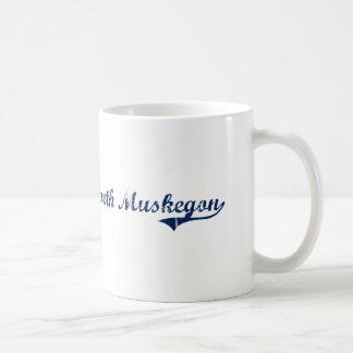 I Love North Muskegon Michigan Coffee Mug