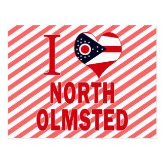 I love North Olmsted, Ohio Postcard